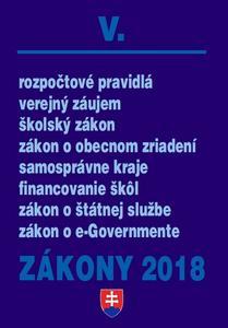 Obrázok Zákony 2018 V.