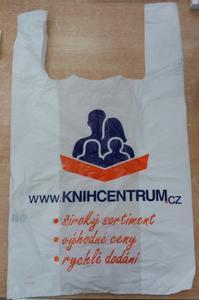 Obrázok Košilková taška KNIHCENTRUM (1000 ks)