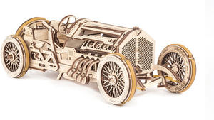 Obrázok Dřevěný mechanický model Auto U-9 Grand Prix