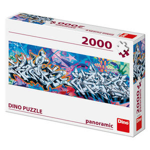 Obrázok Puzzle Graffitti panoramic