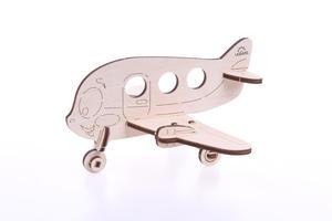 Obrázok 3D dřevěný model Letadlo