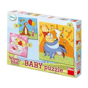 Obrázok Baby puzzle Medvídek Pú