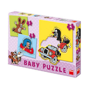 Obrázok Baby puzzle Krteček