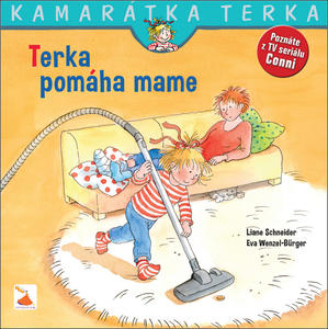 Obrázok Terka pomáha mame