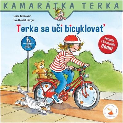 Obrázok Terka sa učí bicyklovať (Kamarátka Terka 7. diel)