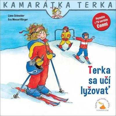 Obrázok Terka sa učí lyžovať