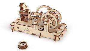 Obrázok Dřevěný mechanický model Motor