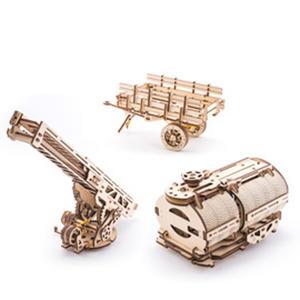 Obrázok Dřevěný mechanický model Doplňky k nákladnímu vozu UGM11