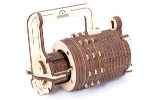 Obrázok Dřevěný mechanický model Kombinační zámek