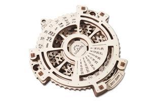 Obrázok Dřevěný mechanický model Kalendář