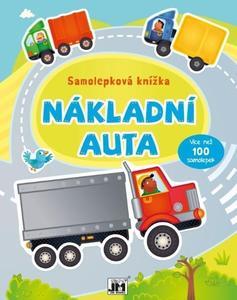 Obrázok Samolepková knížka Nákladní auta