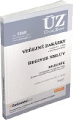Obrázok ÚZ 1248 Veřejné zakázky, Registr smluv