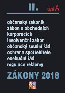 Obrázok Zákony 2018 II. část A