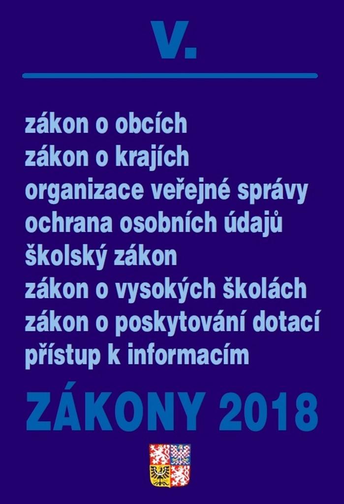 Zákony 2018 V.
