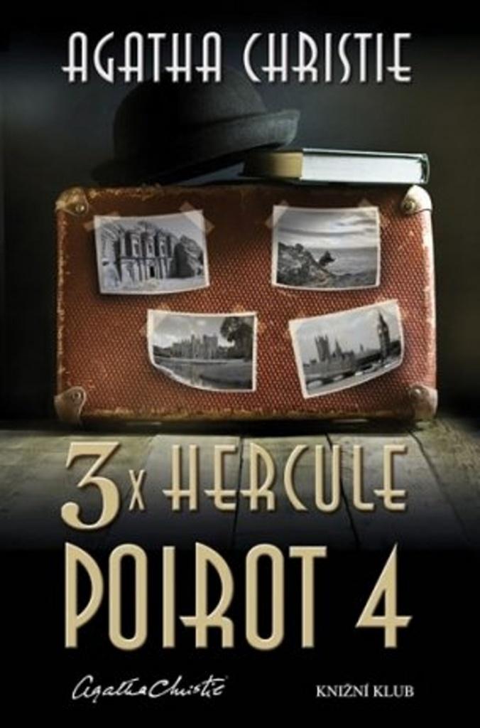 3x Hercule Poirot 4 - Agatha Christie