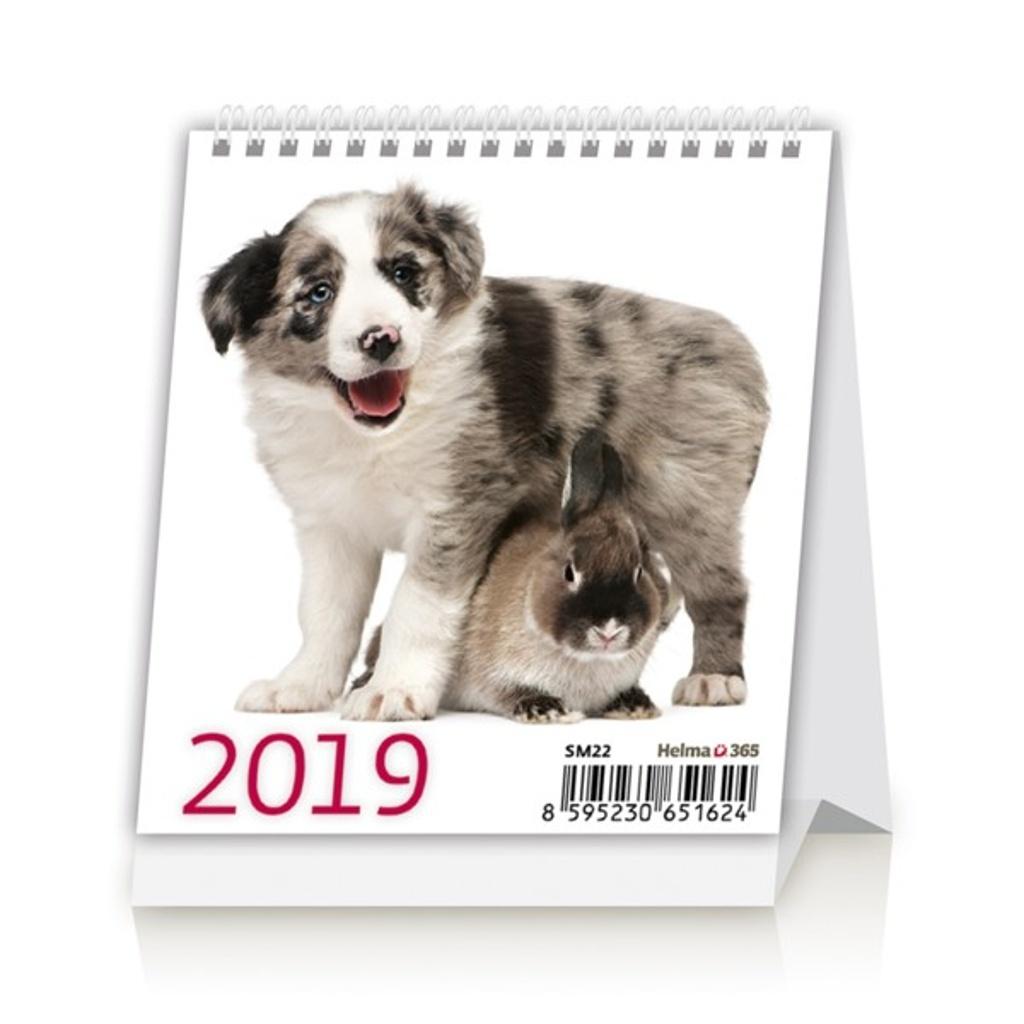 Mini Pets- stolní kalendář 2019