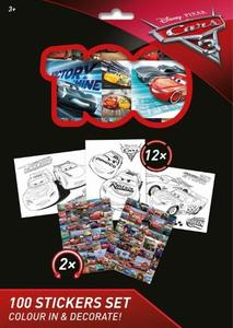 Obrázok 100 Stickers Set Auta 3