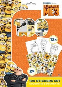 Obrázok 100 Stickers Set Mimoni