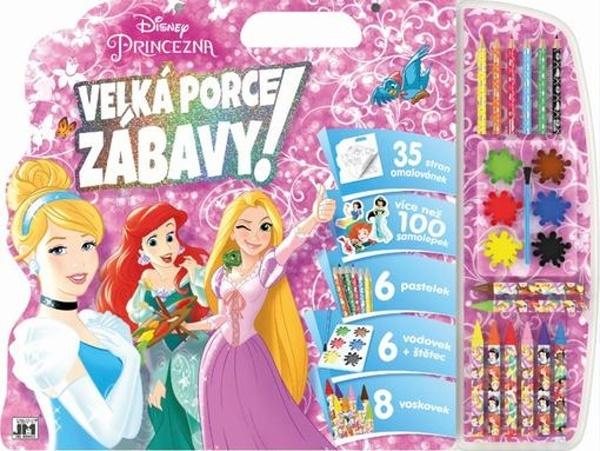 Mega omalovánkový set Princezny