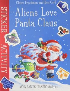 Obrázok Aliens Love Panta Claus: Sticker Activity