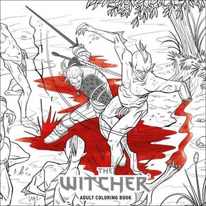 Obrázok The Witcher Adult Coloring Book