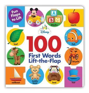 Obrázok Disney Baby: 100 First Words Lift-the-Flap