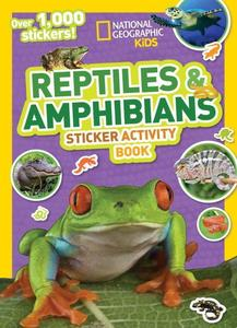 Obrázok National Geographic Kids Reptiles and Amphibians Sticker Activity Book