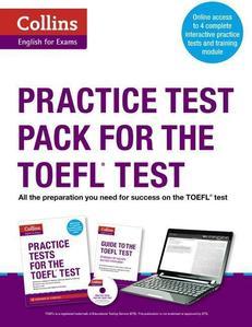 Obrázok Collins English for the TOEFL Test - Practice Test Pack for the TOEFL Test