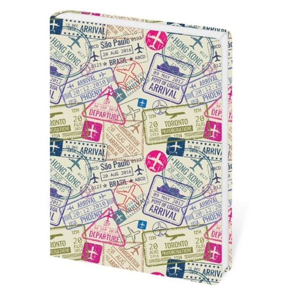 Zápisník Lyra Travel - linkovaný S