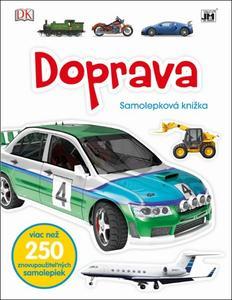 Obrázok Doprava Samolepková knižka