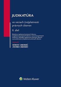 Obrázok Judikatúra vo veciach (ne)platnosti právnych úkonov