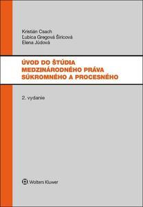 Obrázok Úvod do štúdia medzinárodného práva súkromného a procesného