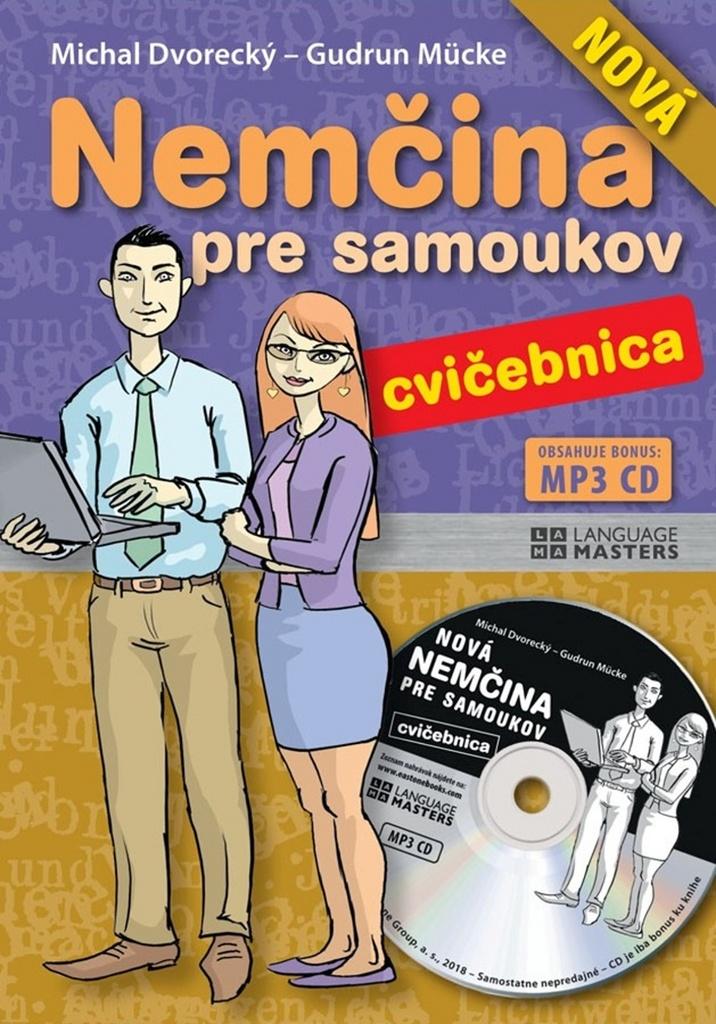 Nová nemčina pre samoukov cvičebnica + CD - Michal Dvorecký, Gudrun Mücke