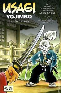 Obrázok Usagi Yojimbo Červený škorpion