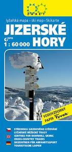 Obrázok Jizerské hory Lyžařská mapa 1:60 000