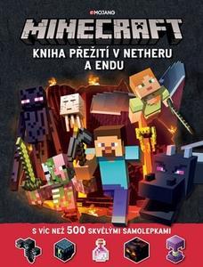 Obrázok Minecraft Kniha přežití v Netheru a Endu