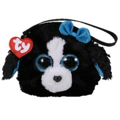 Obrázok Ty Gear peněženka Tracey černobílý pes 10 cm