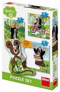 Obrázok Baby puzzle SET Krtek na louce