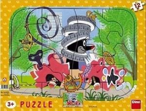 Obrázok Puzzle deskové tvary Krtek opravář 36x28cm