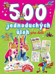 Obrázok 500 jednoduchých úloh pre deti