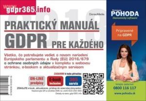Obrázok Praktický manuál GDPR pre každého
