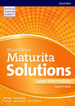 Maturita Solutions Upper-Intermediate - Paul A. Davies, Tim Falla