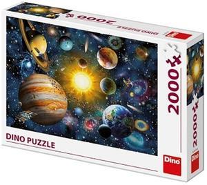 Obrázok Puzzle Sluneční soustava 2000 dílků