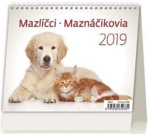 Obrázok MiniMax Mazlíčci/Maznáčikovia - stolní kalendář 2019