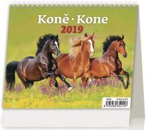 Obrázok MiniMax Koně/Kone - stolní kalendář 2019