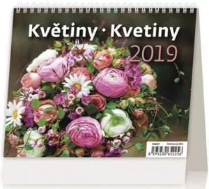 Obrázok Minimax Květiny/Kvetiny - stolní kalendář 2019