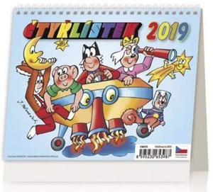 Obrázok Minimax Čtyřlístek - stolní kalendář 2019