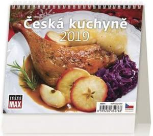 Obrázok Minimax Česká kuchyně - stolní kalendář 2019