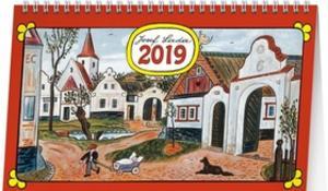 Obrázok Josef Lada Na vsi 2019 - stolní kalendář