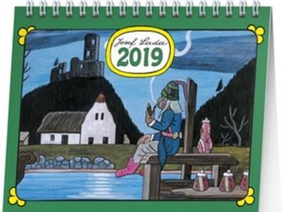 Obrázok Josef Lada Vodník 2019 - stolní kalendář